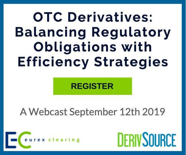 OTC derivatives clearing & collateral webinar Sept 12 2019
