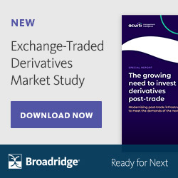 Broadridge sponsored exchange-traded derivatives market study